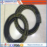 Mangueira hidráulica de borracha trançada SAE100 R6 Manufactre da fibra de China