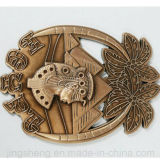 Выдвиженческий изготовленный на заказ магнит холодильника металла декора дома сувенира