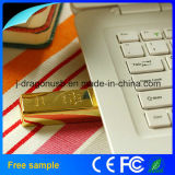 Promotion Gift Real Capacity 8 Go Gold Bar USB Flash Disk