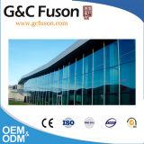Parete divisoria di vetro esterna dell'alluminio per costruzione (offerta installent se necessario)