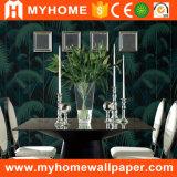 Papel pintado de papel no tejido pintado a mano de la seda de la decoración casera