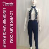 Vêtements à chaînes perlés d'usager de club de procès de configuration de mode (L55208)