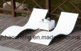 屋外のラウンジのベッドのプールサイドのChaiseの椅子