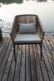 Новая конструкция ослабляет стул сада Restauran Wicker одиночный