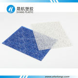 Blue Color Embossed Polycarbonate PC Diamond Sheeting