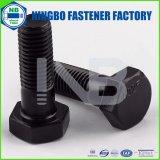 ANSI / ASTM /クラス5ブラック全スレッドまたはハーフスレッドヘッド(ワッシャー顔をして)ASME B18.2.1重い六角ボルトマーキング:NbのかYHC