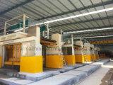 El marco de piedra del bloque de Machinery&Marble consideró