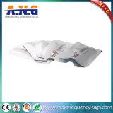 Luvas de proteção do papel RFID da folha de alumínio da impressão/cartão protetor do varredor