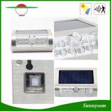 2016 9 sin hilos ligeros al aire libre accionada solares ligeros solares grandes más nuevos de SMD LED LED impermeabilizan con la luz del sensor de movimiento de PIR