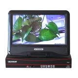 4CH 720p libèrent les systèmes de sécurité sans fil de télévision en circuit fermé de logiciel de cm avec l'écran LCD de 10 pouces (MVT-K04T)
