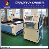 Carbonio di alta precisione, tagliatrice di alluminio del laser della fibra della lamina di metallo