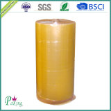 1280mm * 4000m Yellow Color BOPP Adesivo Jumbo Roll