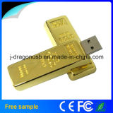 Promoção Gift Real Capacity 8GB Gold Bar USB Flash Disk