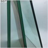 10 millimètres de verre feuilleté avec le vert et la couleur de thé de Sgt