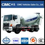 Sinotruk HOWO 9 Metros cúbicos 336HP 6X4 Hormigonera Camión / cemento pesado camión del mezclador
