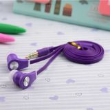 Flat Cable를 가진 공장 Price Fashion Stereo Earphone