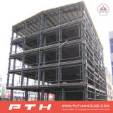 Edificio per uffici d'acciaio prefabbricato di alta qualità da vendere