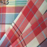 Пряжа 100% поплина хлопка сплетенная покрасила ткань для рубашек/платья Rls32-8
