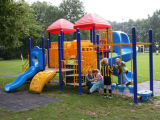 Cacao 2015 Series Featured Outdoor Playground Set pour Kids (YL-W015)