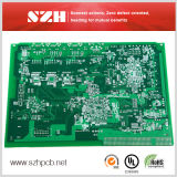 4層のGreen Solder Mask Immersion Gold PCB