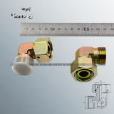 Montaggio idraulico del tubo della noce della parte girevole del riduttore del gomito di Parker approvato Ce 90 ed adattatore idraulico (2C9)