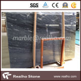 Polished Black Marquina/Nero Marquina/Portoro Marble для Slab/Countertop/Tile/Flooring