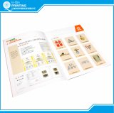Azienda di stampa della Cina sull'opuscolo dello scomparto del libro del catalogo di stampa