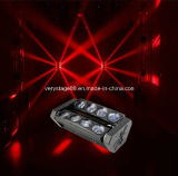 1つのLED Spider Beam Moving Head BarアメリカDJ Lightの8*10W RGBW Quad