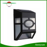 Lampada esterna chiara solare solare impermeabile della rete fissa del percorso dell'iarda di illuminazione della parete del giardino del percorso LED dell'ABS delle lampade da parete per il corridoio domestico