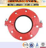 ASTM A536 300psi Ductile Iron Fire Fittings Grooved Flange