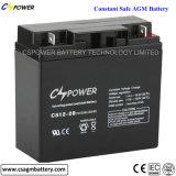 Batteries exemptes d'entretien et batterie 12V15ah d'AGM pour l'UPS