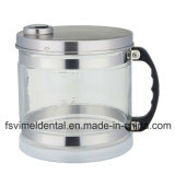 304 destilador puro inoxidable del agua del acero 4L con el tarro de cristal