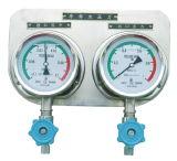 Vibration-Proof装置が付いている圧力計の結合されたパネル