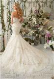 Vestido de casamento deVenda novo da sereia da noiva do sutiã 2016, personalizado
