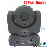 12PCSクリー語LED Beam Moving Head Disco Light