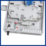 FTTH 16port PLCのディバイダーの耐候性があるファイバーのOpitcの配電箱