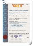 Variables Frequenz-Laufwerk VFD Cer SGS-ISO9001 genehmigtes Wechselstrom-3.7kw für Wasser-Pumpe