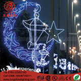 거리 폴란드 훈장을%s LED Ramadan 점화