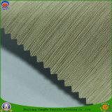 Tissu de rideau en polyester tissé par arrêt total imperméable à l'eau enduit à la maison de PVC franc de textile