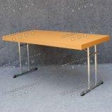メラミンテーブルの上のステンレス鋼の足の宴会の折りたたみ式テーブルYc-T192-01
