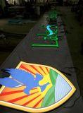 Alta qualidade 3D LED Lit Resin / Acrílico / Vinly Letters Sign