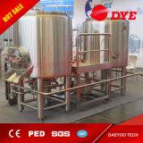 Gebildet China-Bier-Getränkemaschinen-im industriellen Edelstahl-Bierbrauen-Gerät