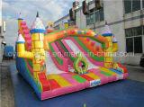 Corrediça inflável das crianças das pistas duplas, corrediça do Bouncer para vendas
