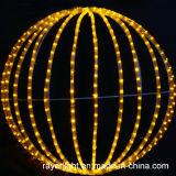 공장에서 정원 장식을위한 LED 정원 공 빛