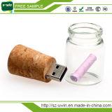 Hoogste het Verkopen Douane Houten USB 3.0 de Aandrijving van de Flits 4GB