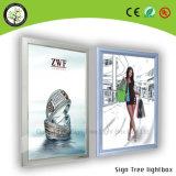 Blocco per grafici caldo LED dello schiocco dell'alluminio di alta qualità di vendita che fa pubblicità alla casella chiara