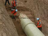 Труба песка FRP или GRP для воды или химических промышленностей