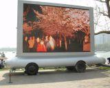 Pantalla de visualización a todo color de LED del acoplado de la publicidad al aire libre P10