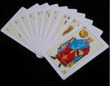 40 карточек PVC карточек испанских пластичных играя