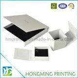 Роскошная белая коробка Jewellery картона подарка